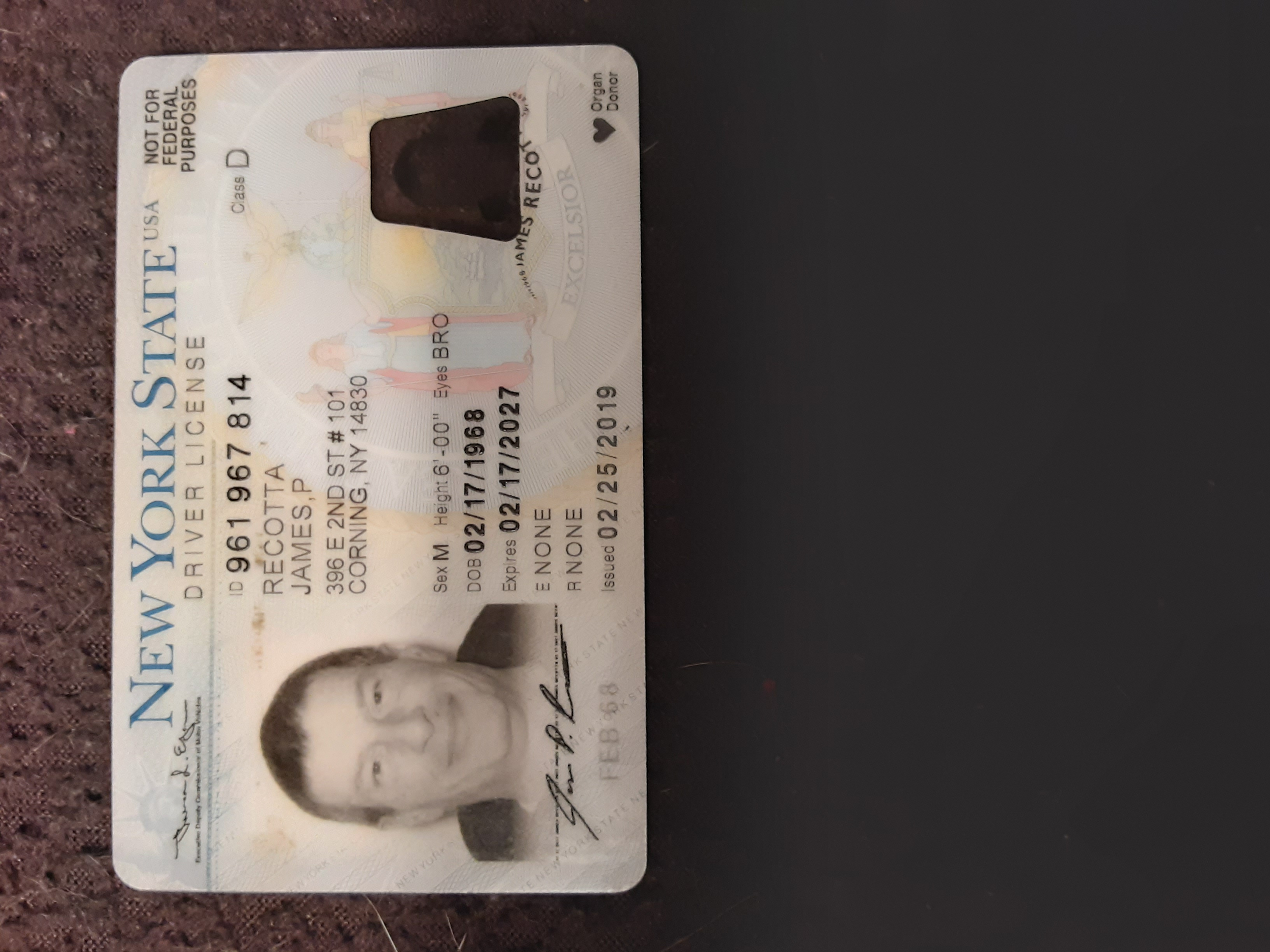 Upload a photo of your Driver's License